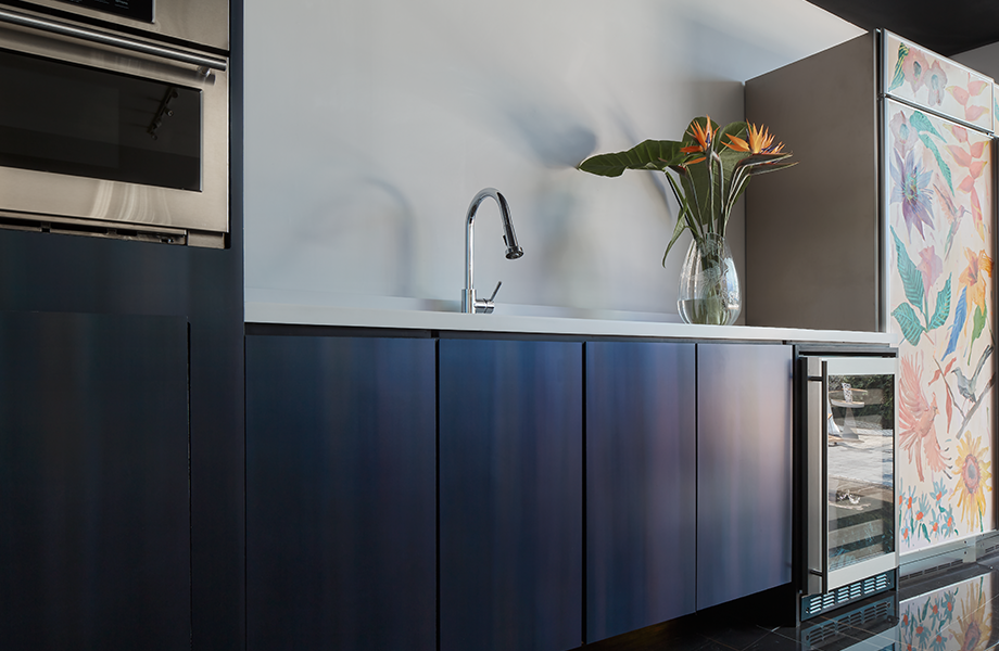 Mueble Cocina de Dark Rolled Steel