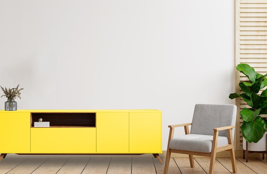 Mueble Chrome Yellow