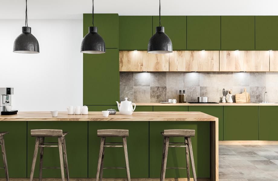Cocina Espacios Verdes