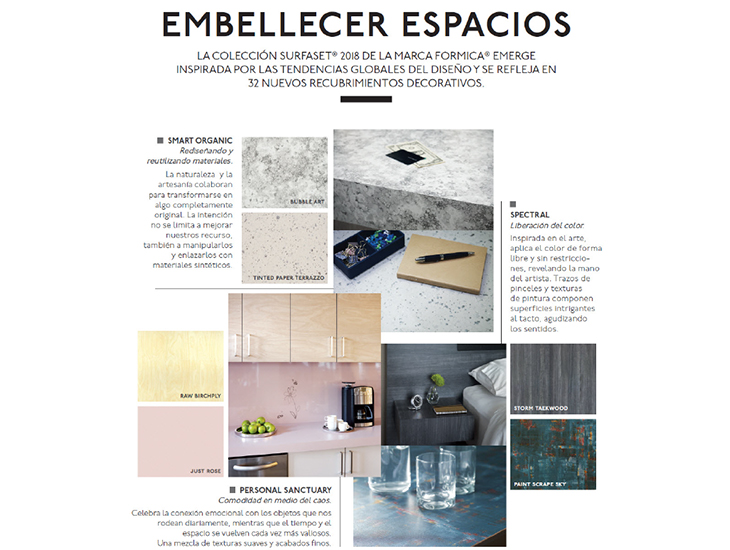ARQUITECTURAL DIGEST SURFACE SET