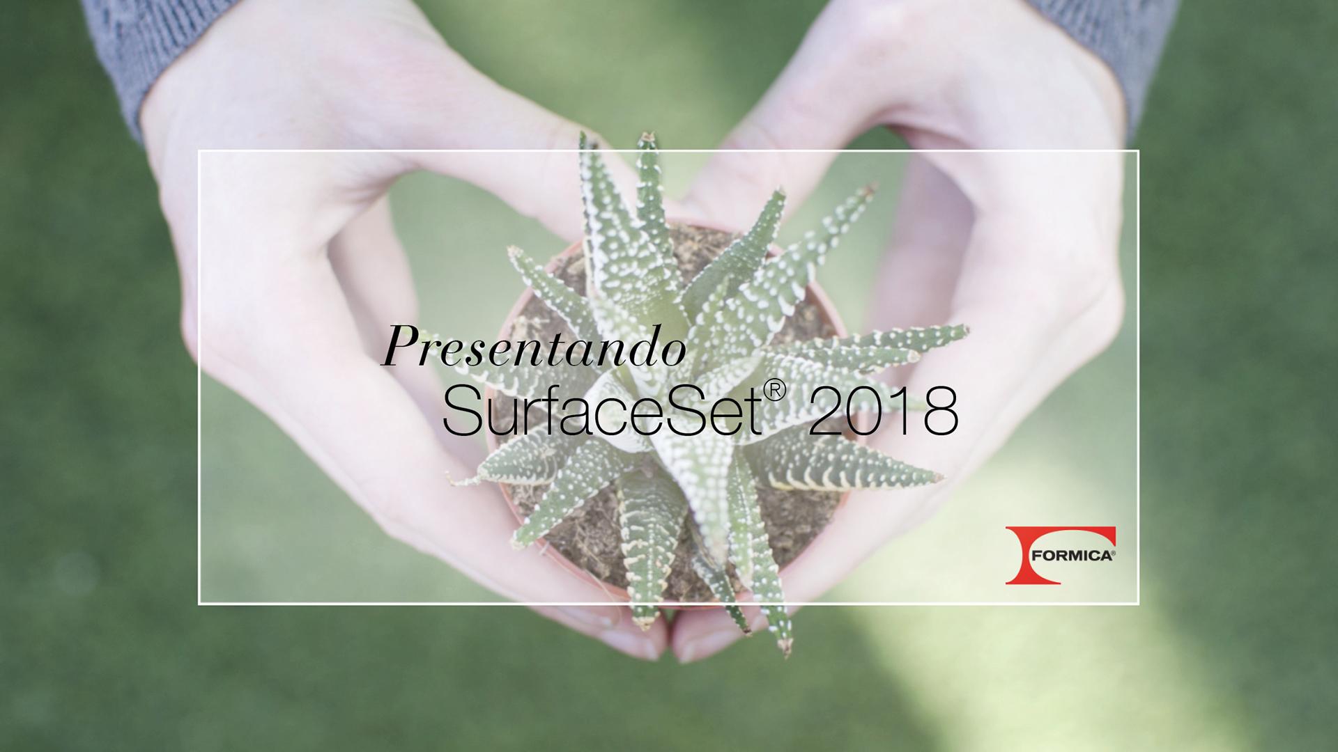 Presentando SurfaceSet 2018