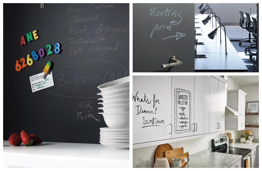 Collage Superficies para Escribir chalkboard