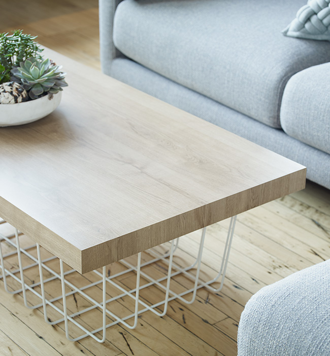 Coffee table 9312 Planked Urban Oak ColorCore2