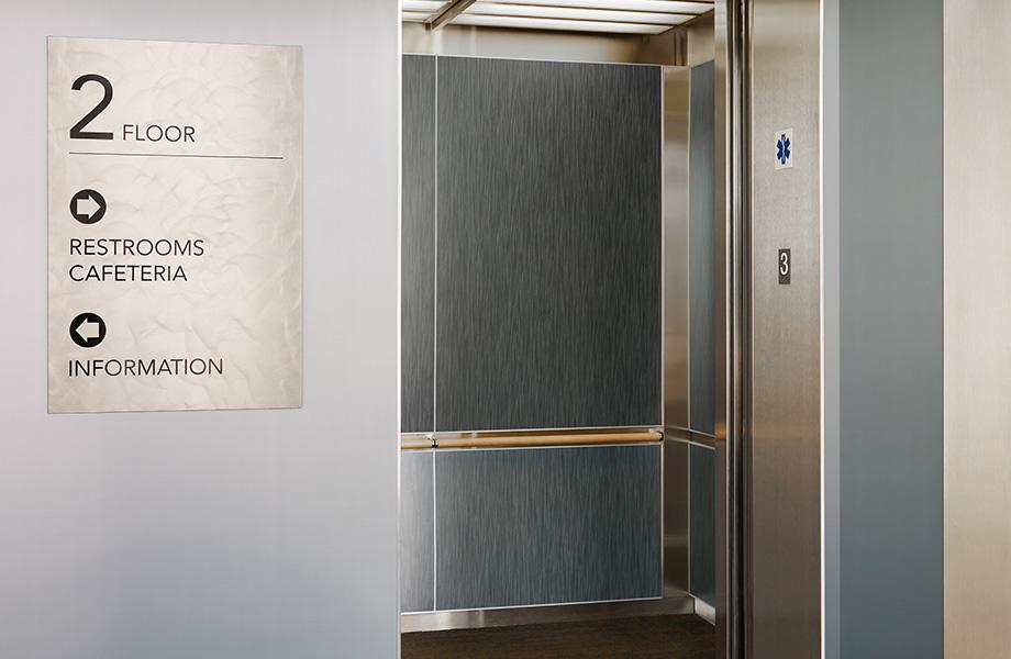 Elevator M4511 Aluminum Crush II DecoMetal