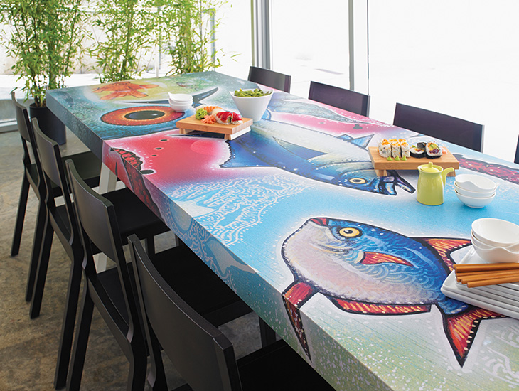 Sushi Table Envision
