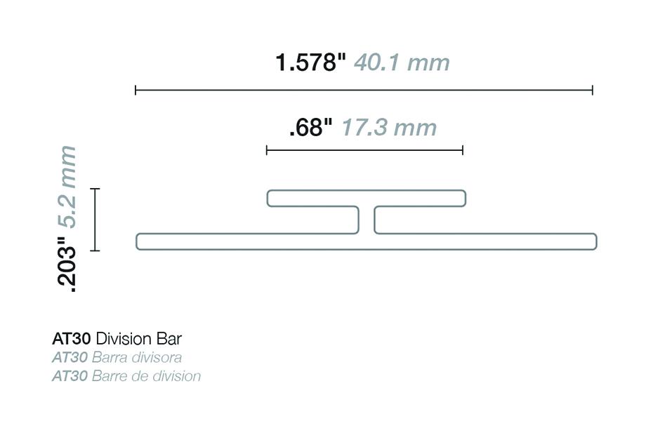 HardStop Trim Illustrations Division Bar