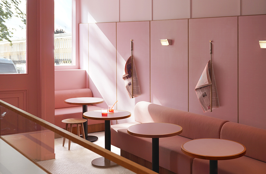 Humble Pizza case study - Younique by Formica Group wall panels in restaurant design credits - Designed and photographed by Child Studio 920x600