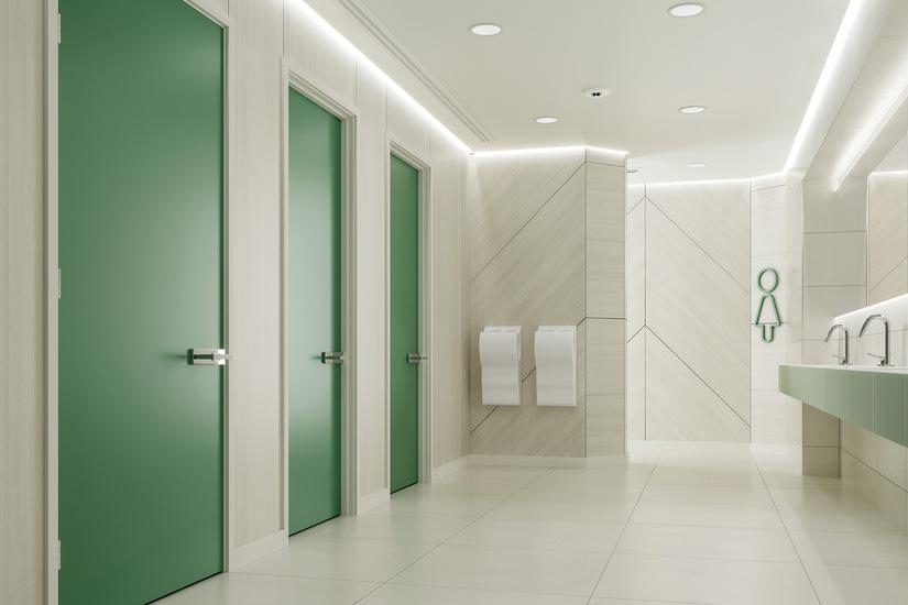 Formica Doors Washroom 825x550