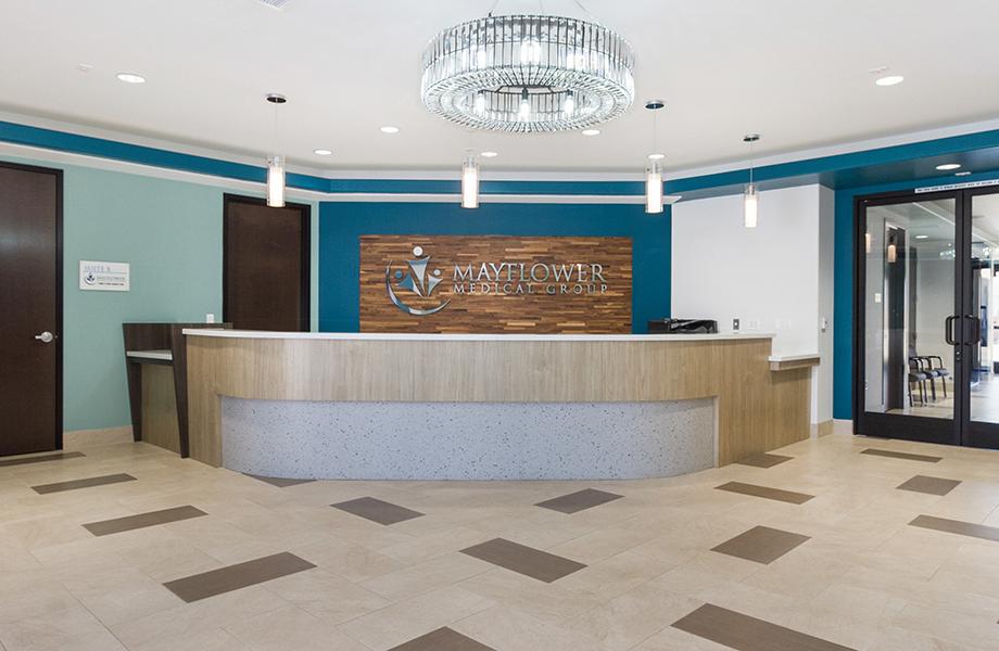 Le Centre médical El Monte – Arcel Design - Le service de médecine familiale du Mayflower - stratifiés de marque Formica®