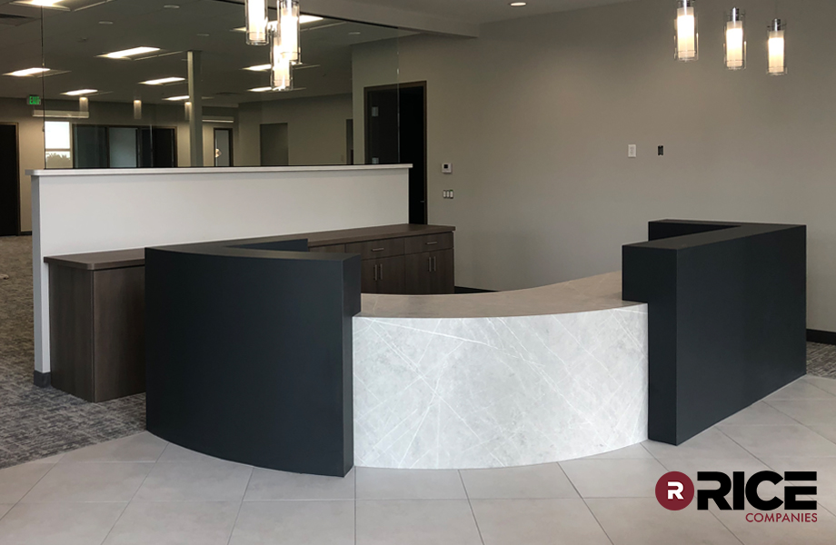 Rice Properties reception desk
