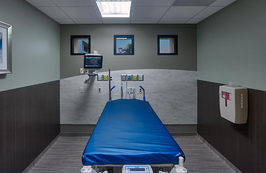 Hospital Bed Orange Coast ER