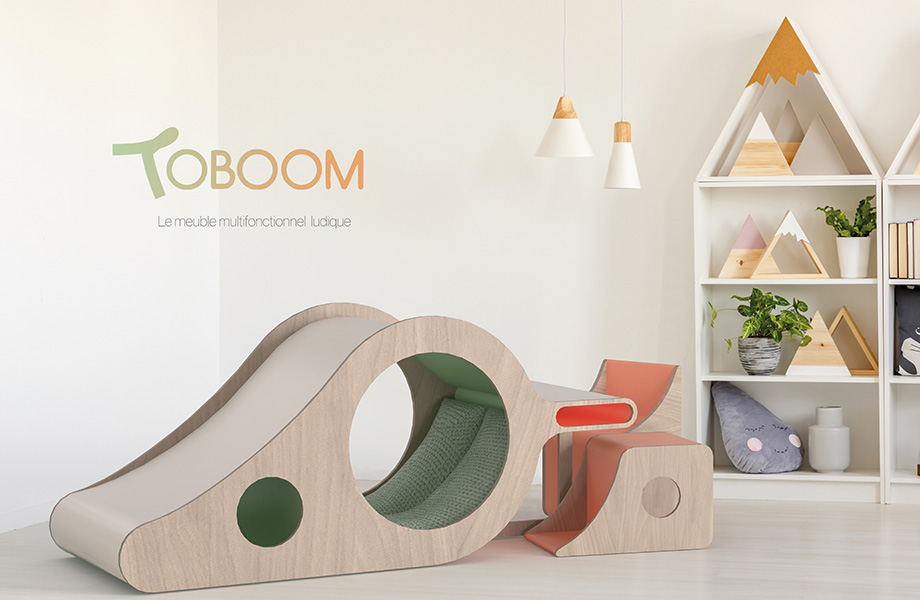 Toboom, the winning design of the 2021 FORM Student Innovation Competition