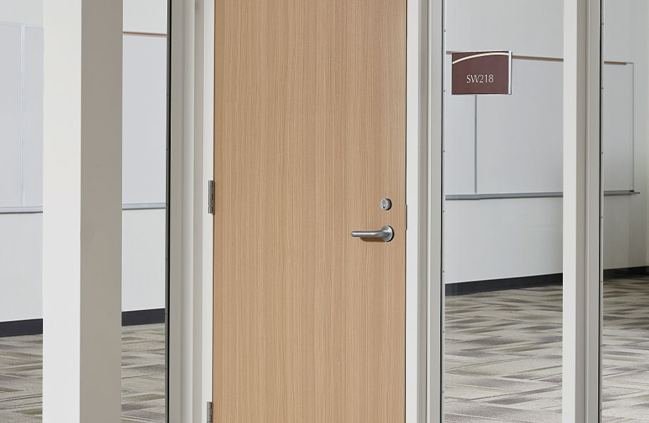 5786-NG Ashwood Oak classroom door