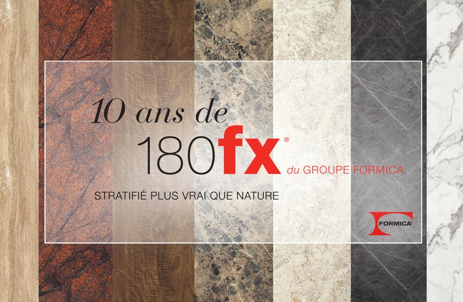 Célébration du 10e anniversaire des stratifiés 180fx® du Groupe Formica