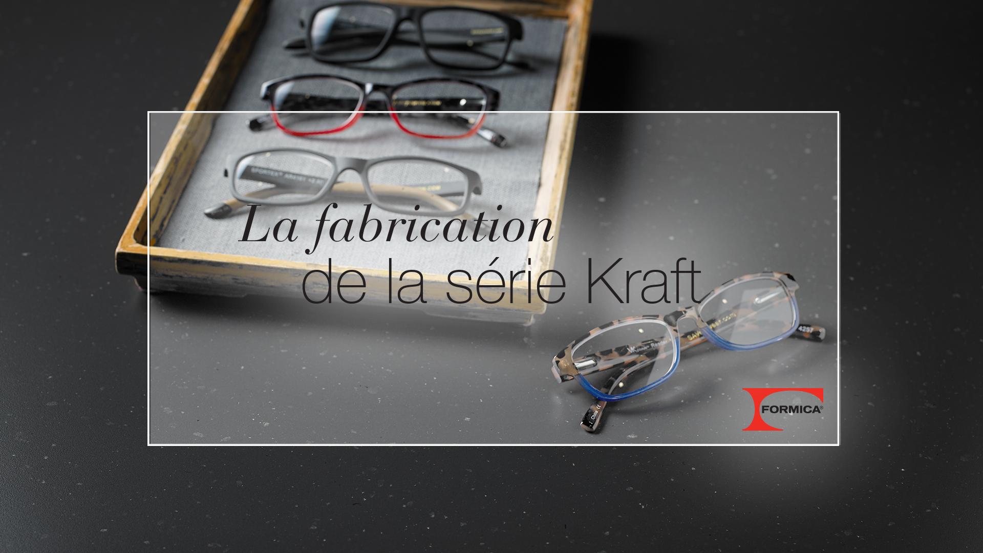 La fabrication de la série Kraft Stratifié haute pression de marque Formica® HPL