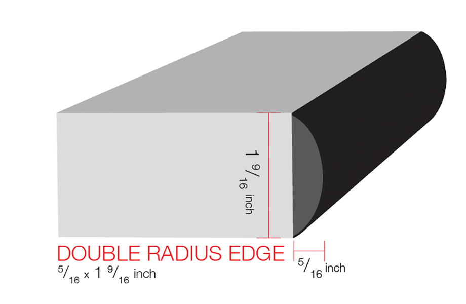 IdealEdge Double Radius Illustration