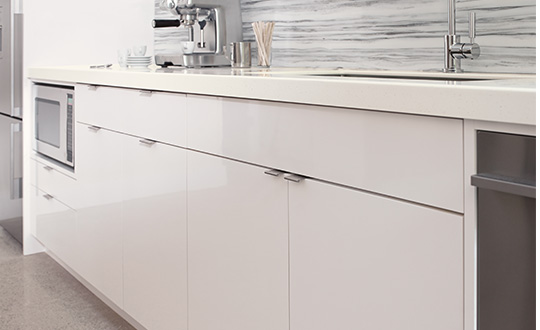 Kitchen cabinets 949 White ColorCore2