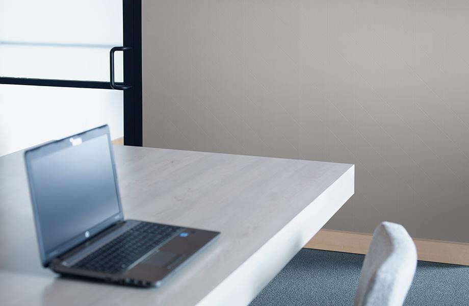 Office desk M8549 Matte Bronze Labyrinth DecoMetal