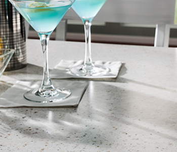 Blue martinis 788 White Travertine Formica Solid Surfacing