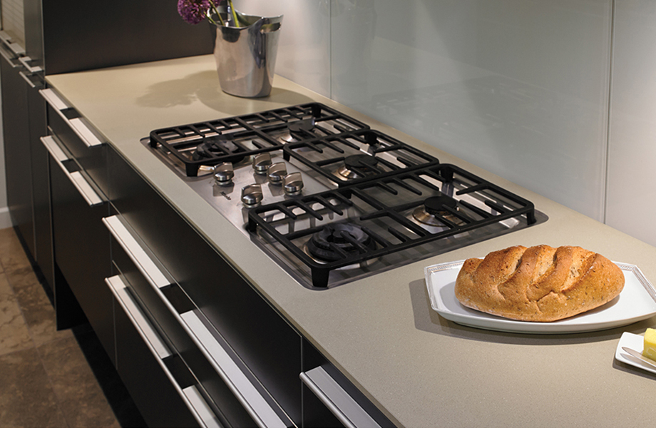 Kitchen range and bread 780 Luna Stone Formica Solid Surfacing