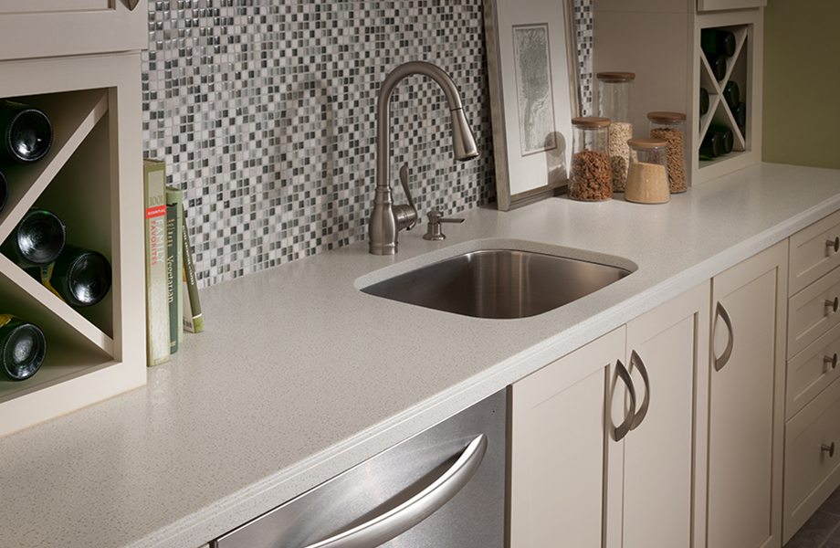 Kitchen sink 758 Bianco Mineral Formica Solid Surfacing