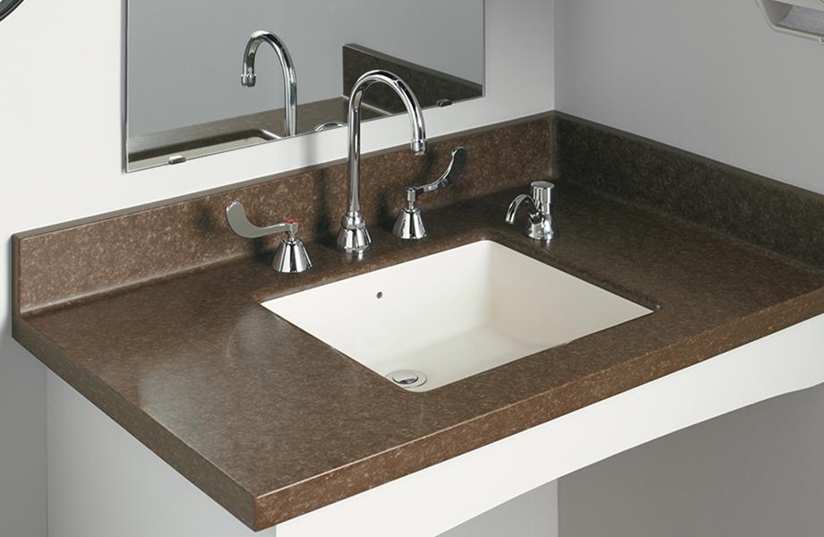 Formica®  Solid Surfacing Vanity Bowl L080