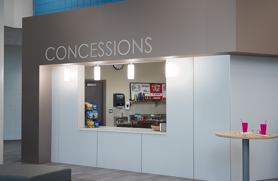 Concession stand 5875 Neutral Weft HardStop
