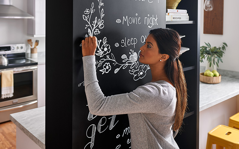 Chalkboard drawing 3037 Black ChalkAble Writable Surfaces