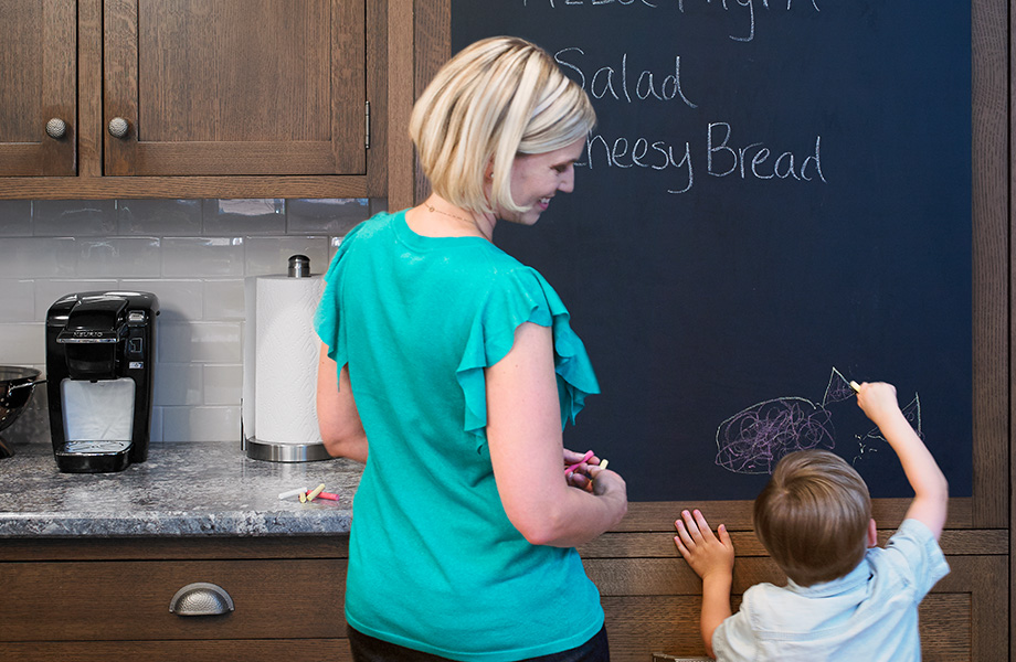 Kitchen chalkboard menu 3037 Black ChalkAble Writable Surfaces
