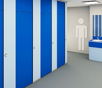 Washrooms hygienic and durable