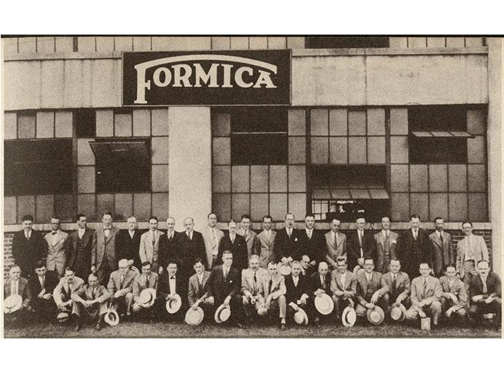 1927 Formica Group sales meeting