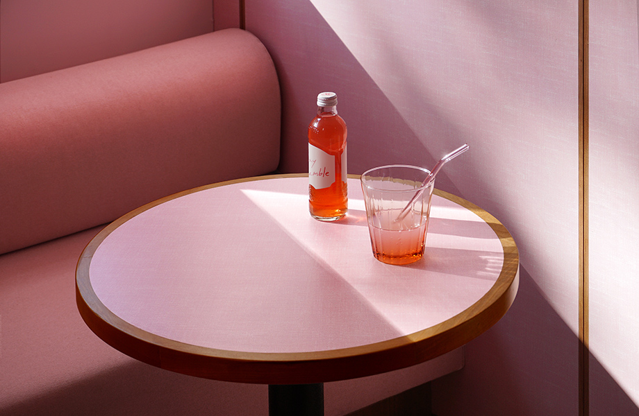 Humble Pizza case study - Younique by Formica Group table tops in restaurant design credits - Designed and photographed by Child Studio 920x600