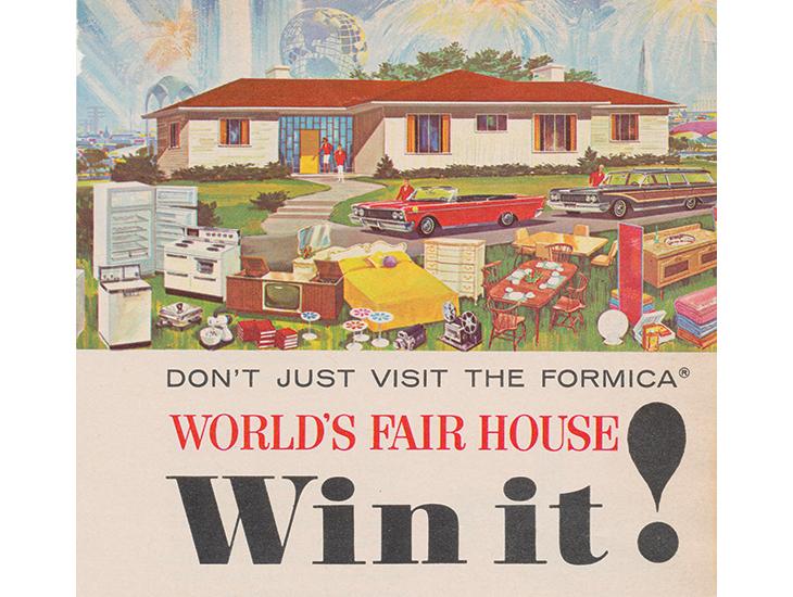 1965 World Fair advert
