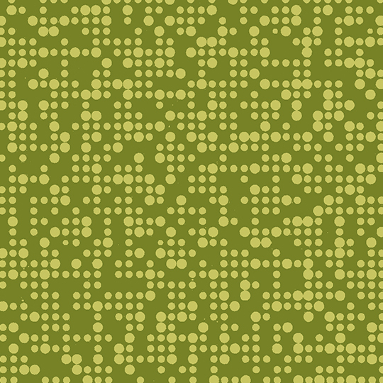 Mini Mode Wasabi on Leaf Green