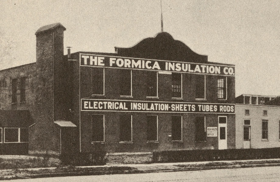 1922 Formica is first registered as a trademark 920x600