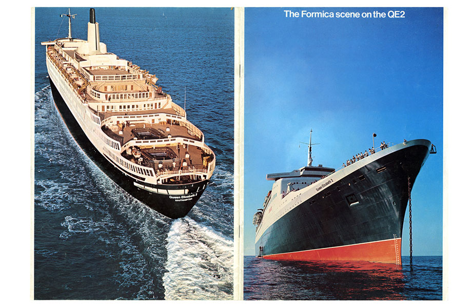 1932 Formica laminate is used in ocean liners 920x600