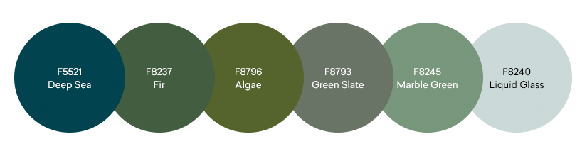 Formica Greens Palette