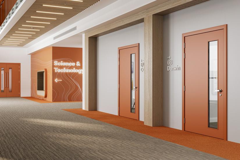 Formica Doors Education 825x550