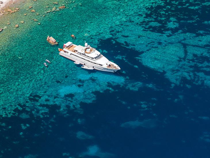 Marine yacht 730x550